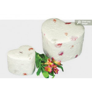 Floral Unity Earthurn (Adult) - Eco Friendly Urn